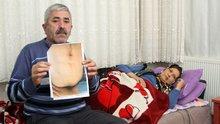 Isparta'da 8 yıldır karaciğer nakli bekleyen siroz hastası kadın