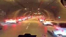 İzmir'de sürücüler fermuar yöntemiyle yol verdi