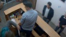 Ümraniye'de bir kadının vahşice öldürüldüğü anlar kamerada