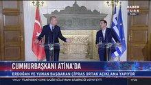 Erdoğan ve Çipras'tan ortak açıklama