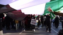 İstanbul'da Kudüs protestosu
