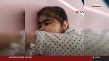 Kızının yaşaması için 8 aydır hastane odasında kalıyor