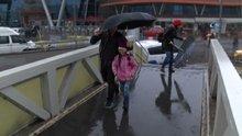 İstanbul'da hava bir anda karardı