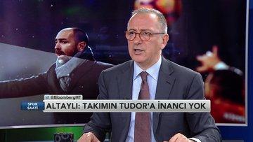 Fatih Altaylı: Futbolcular Tudor'a inanmıyor ve güvenmiyorlar (Spor Saati 1. Bölüm)