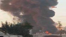 Adana'da fabrikada yangın! Adana'da yangın!