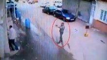 Malatya'da sokak ortasındaki cinayet anı kamerada