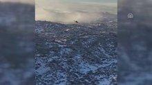 Ağrı Dağı'ndaki operasyonlar zorlu hava koşullarına rağmen sürüyor