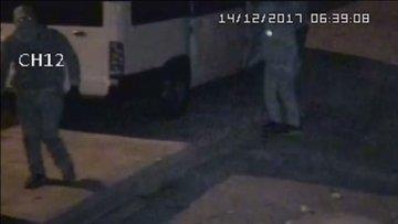 Maskeli beşlerin hırsızlık anı kamerada