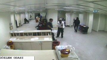 Tedavi için geldiği hastanede teknisyenin çantasını çaldı