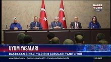 Başbakan Yıldırım'dan uyum yasalarına ilişkin açıklama