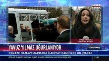 Mesut Yılmaz, oğlu Yavuz Yılmaz'ın cenazesini hastaneden aldı