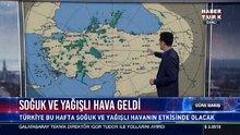 Türkiye'de hava durumu!  İstanbul'a kar yağacak mı? (18 Aralık 2017)