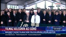 Yavuz Yılmaz'ı devletin zirvesi ve sevenleri uğurladı