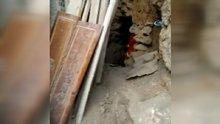 Kızıltepe'de bir evde Garnizon Komutanlığına kazılmış tünel bulundu
