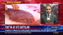 TSK'ya at eti sattılar!