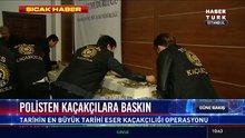 İstanbul'da tarihi eser kaçakçılarına baskın