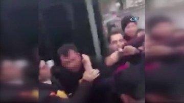 Metrobüs tacizcisine meydan dayağı kamerada
