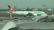 THY'nin siparişi Boeing 777F tipi kargo uçağı İstanbul'a geldi
