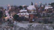 İstanbul'da kar yağışı yüksek kesimlerde etkili oldu