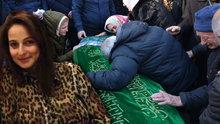 Gizem'in cenazesinde dikkat çeken çağrı!