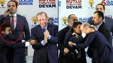 Cumhurbaşkanı Erdoğan'a sarılan kişinin kim olduğu ortaya çıktı