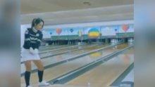 Golf topuyla bowlıng oynamak