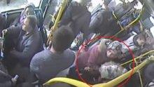 Kahraman şoför, otobüste fenalaşan kadını hastaneye böyle yetiştirdi