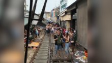 Tayland'ın tren pazarı