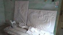 Masalları heykellere yansıtıyor