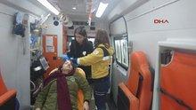 İstiklal Caddesi'nde bir kadının başına tahta düştü