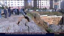 Ataşehir'de toprak kaydı