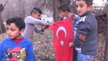 Bayrağı yerde bırakmayan Beytüşşebaplı çocuklar