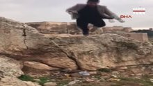 Şanlıurfa'da ölüme götüren atlayış