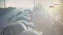 Sarıyer'de otomobil denize uçtu