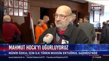 Tiyatro sanatçısı Ferdi Atuner Münir Özkul'u anlattı