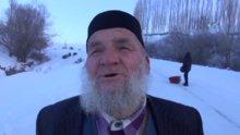 84 yaşında kayak yapan dedeler