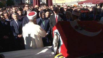 Münir Özkul Teşvikiye Cami'nde son yolculuğuna uğurlandı