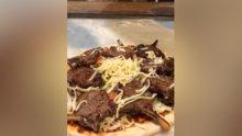 Kaburgayla pizzayı buluşturan adanalı usta