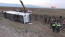 Şırnak-Silopi'de kaza 9 ölü 28 yaralı