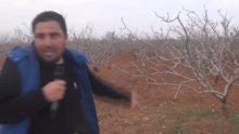 Bombalardan kurtulan şanslı muhabir