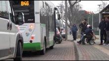 Bursa'da engelli kadının özel halk otobüsüne alınmayışı böyle görüntülendi