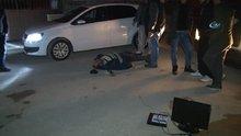 Yakaladıkları hırsızı önce dövdüler sonra polise teslim ettiler