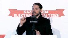 Enerji Bakanı Albayrak, Kazan Soda Elektrik A.Ş açılışında konuştu