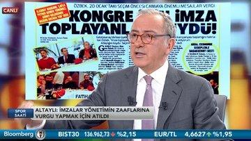 Fatih Kuşçu / Fatih Altaylı - Spor Saati / 3.Bölüm (15.01.2018)