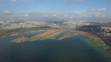 Kanal İstanbul'un güzergahı drone ile görüntülendi