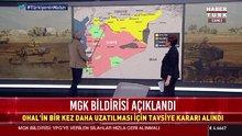 MGK bildirisinde Afrin mesajı: Terör koridoruna izin verilmeyecek