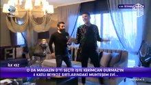 Kerimcan Durmaz'ın evi