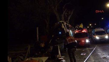 Eskişehir'de yolcu otobüsü kaza yaptı: Ölü ve yaralılar var