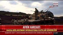 TSK'ya ait birlikler Hassa'da