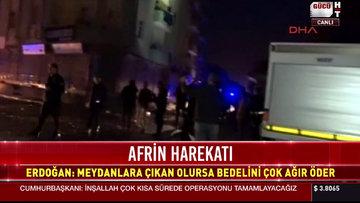 Afrin'den Reyhanlı'ya 4. roket atıldı